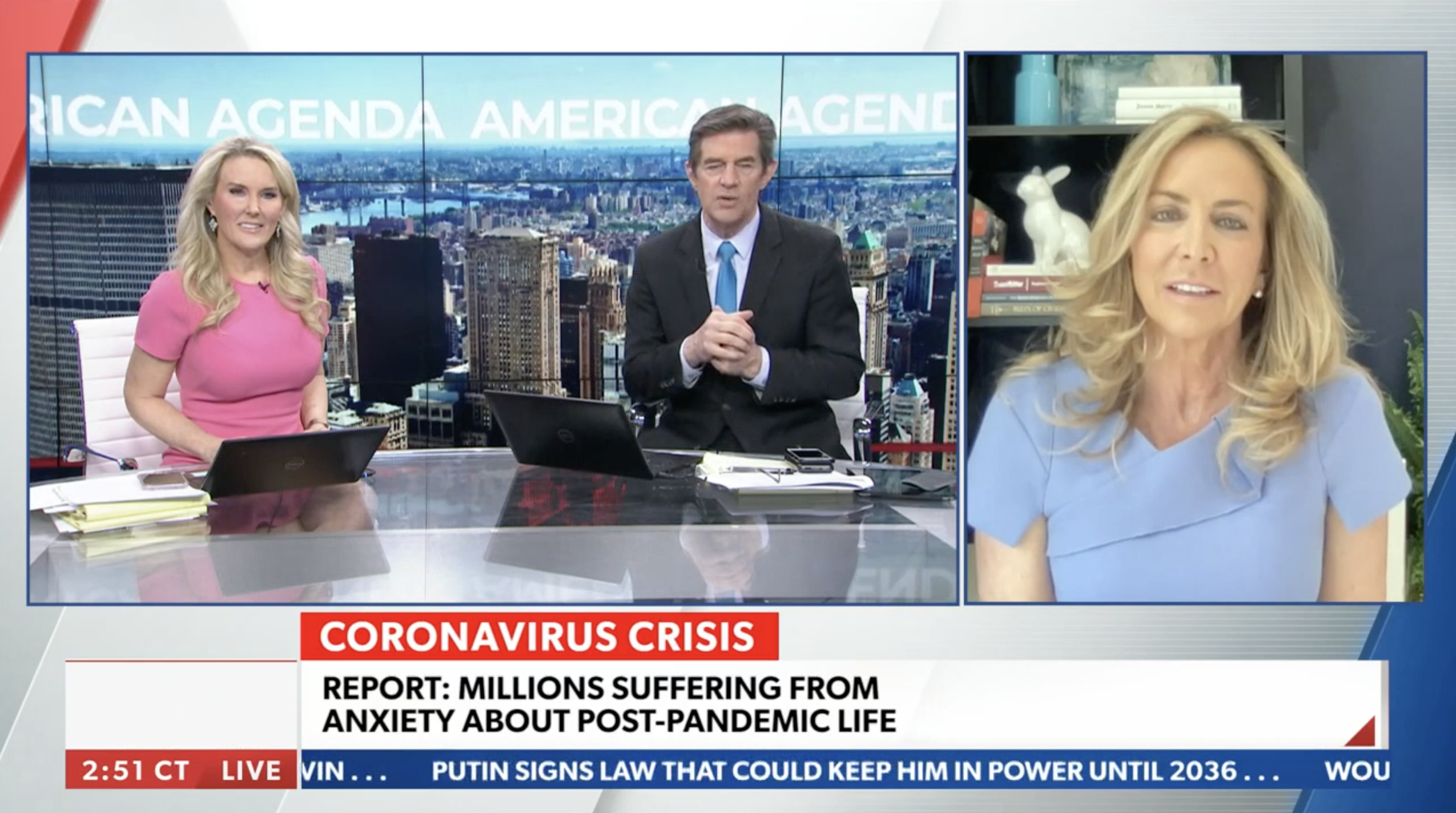 Millions Suffering From Anxiety About Post Pandemic Life – Newsmax